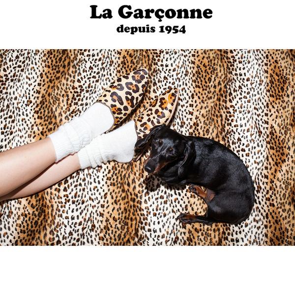 La Garconne Babouche Leo beige