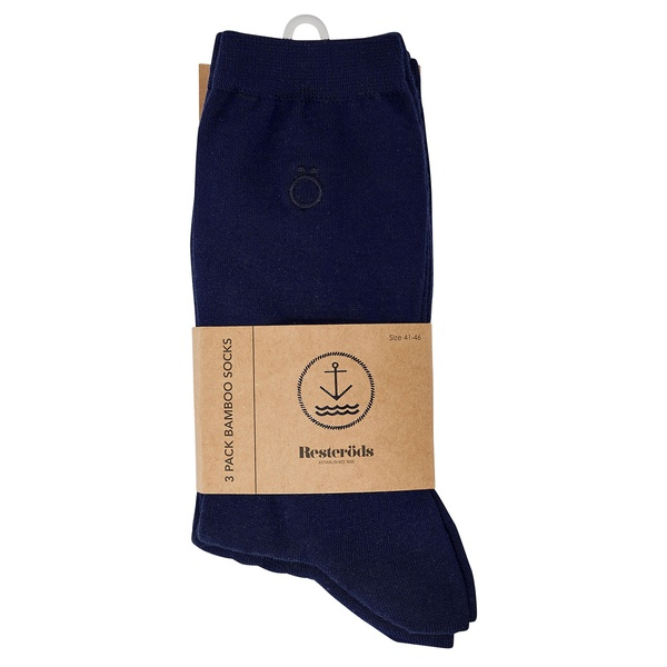 Bambus Socken 3er Pack Navy