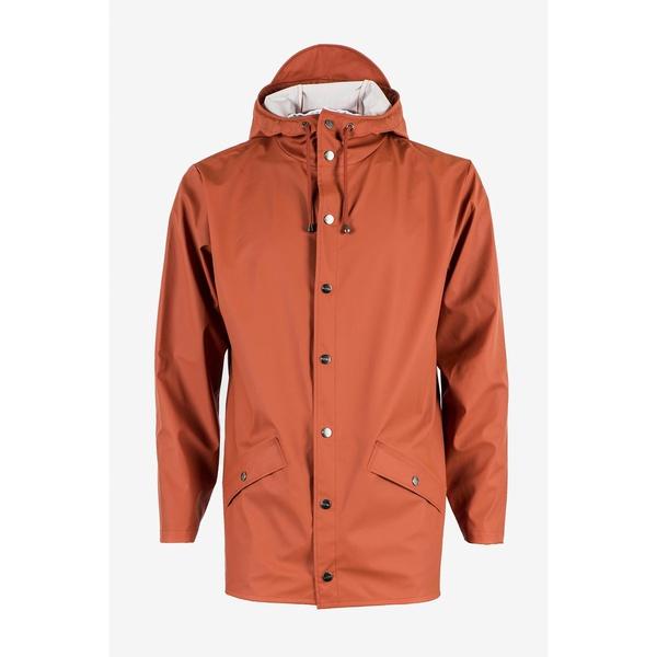 Rains Jacket Rust