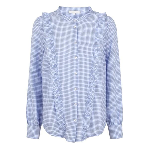 Leslie Shirt Brunnera Blue