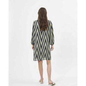 Apan Short Dress Oil Green