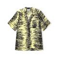 Crinkled Satin Shirt Pale Banana