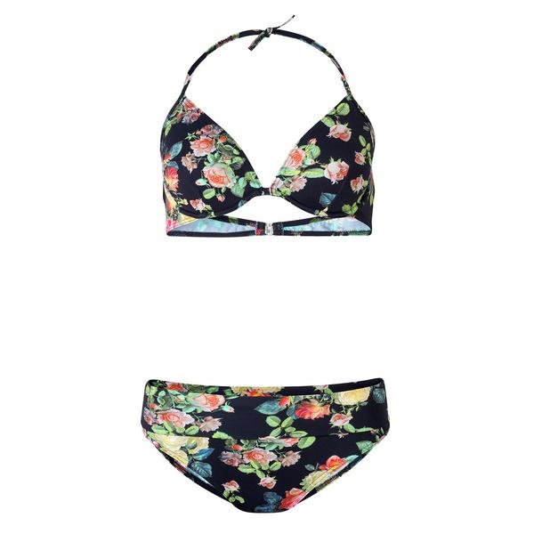 Paula Bikini Stromboli Black Roses