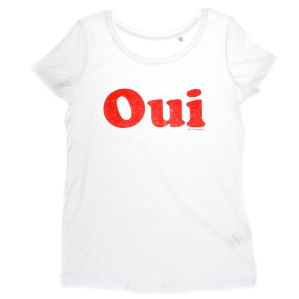 Oui T-Shirt  - Bio Baumwolle