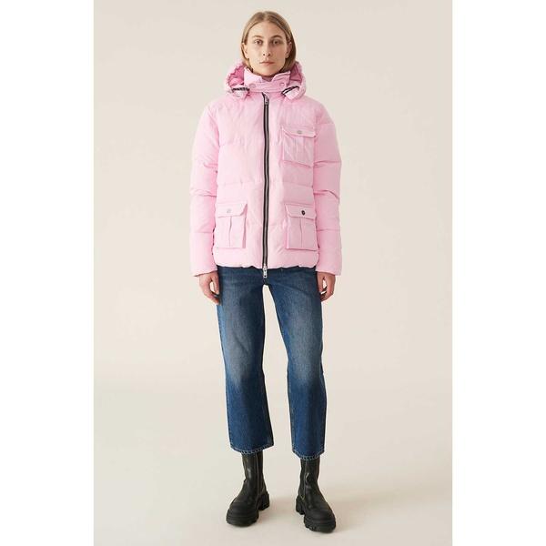 Heavy Tech Puffer Jacket Sweet Lilac