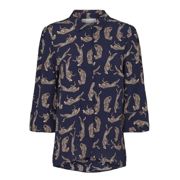 Welis Shirt Leopard