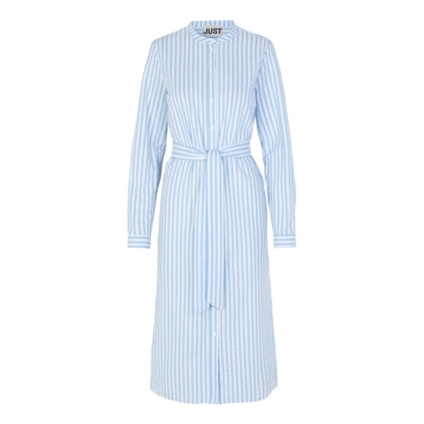 Payton Long Shirt Chambray Stripe