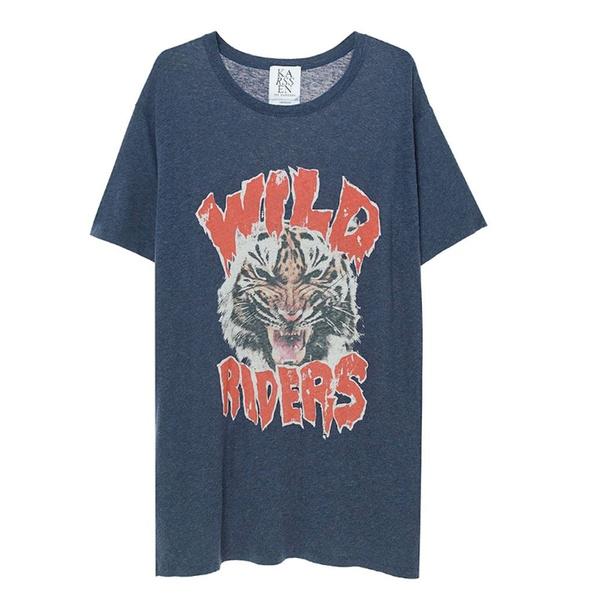Wild Riders T-Shirt Peacoat