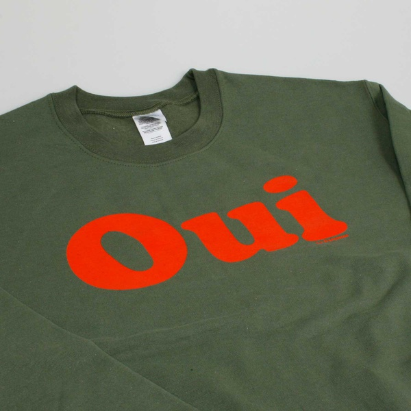 OUI Sweater Military green