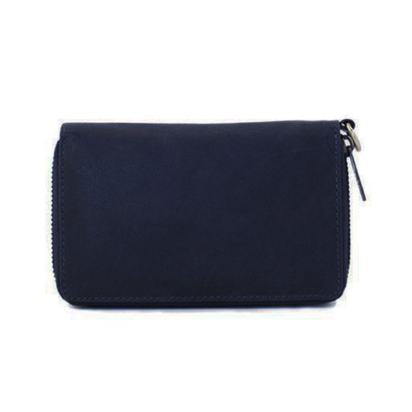 Dixie Wina Lux Leather Wallet Navy