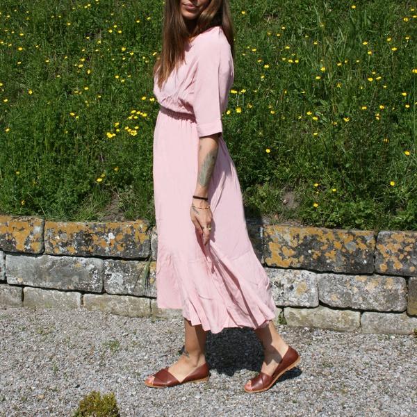 Sweet Long Dress Pink