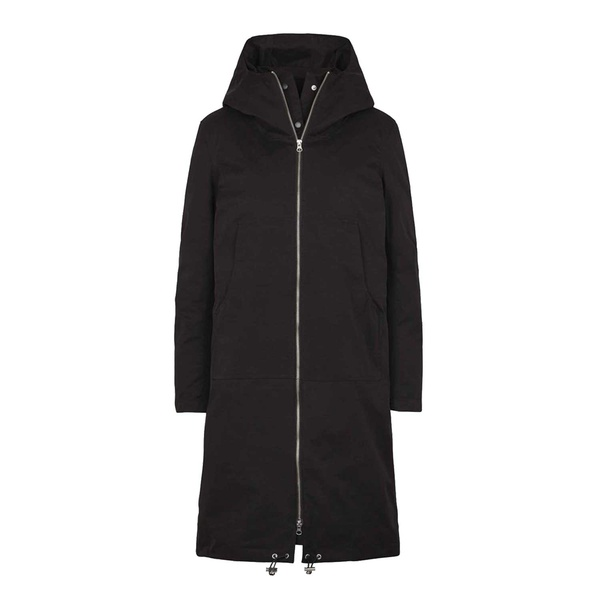 Steal Coat Black