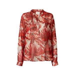 Helena Shirt Flower Print Red