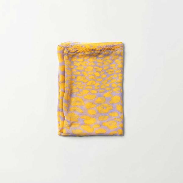Ibon Viscsi Scarf Yellow