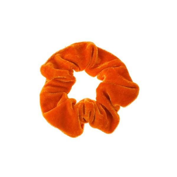 Scrunchie Velvet Orange