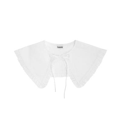 Collar Cotton Poplin Bright White