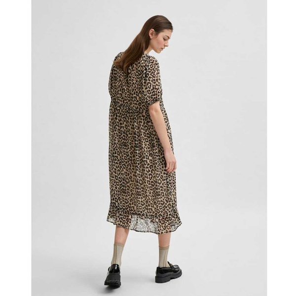 Tilda Midi Dress Smoke Gray