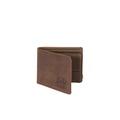 Hank Coin Nubuck Leather