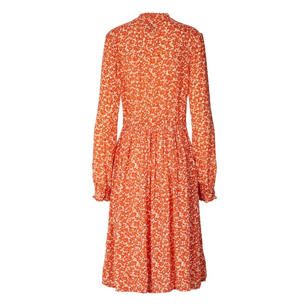 Sienna Dress Orange