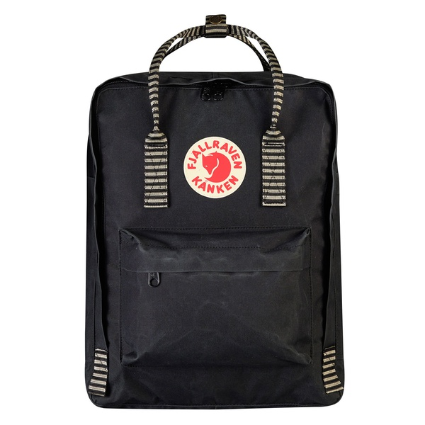 Kanken Black Striped