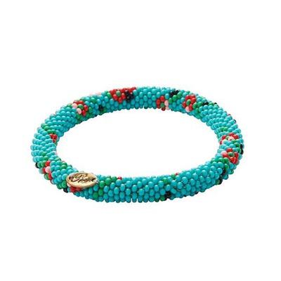 Türkis Flower Power Bracelet