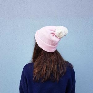 Wollmütze Rosa