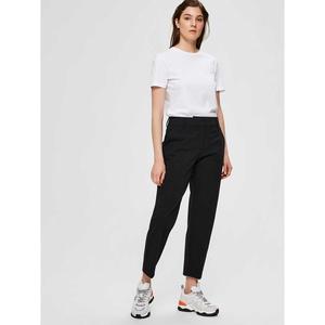 Ria Cropped Pants Black