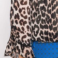 Mullin Georgette Leopard