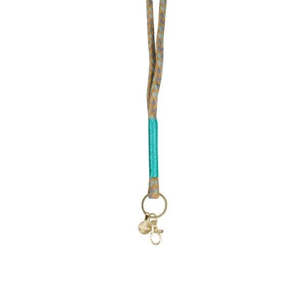 Keychain Olive Lightblue