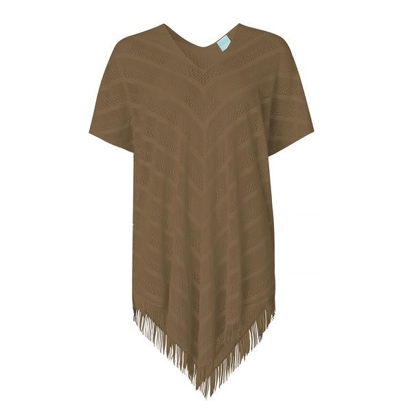 Perfect Poncho Bronze - Khaki