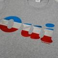 OUI T-Shirt Sport Grey Tricolore