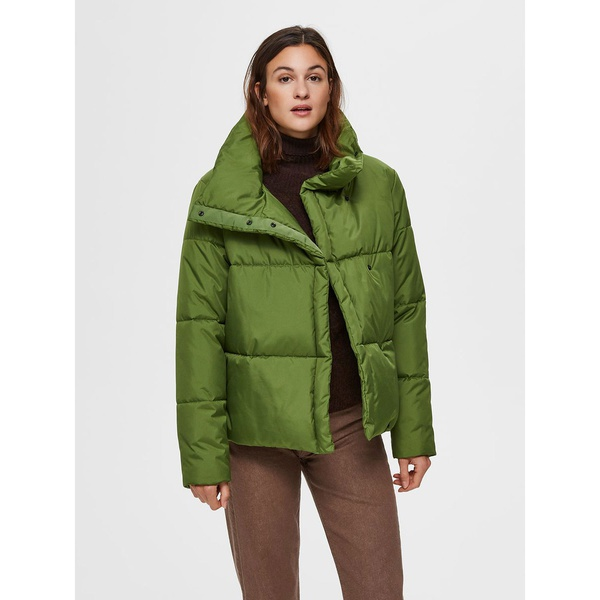 Puffer Jacket Twist Of Lime