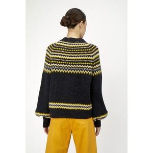 Svan Knit Pullover Black
