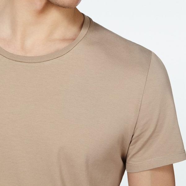 American Vintage Mens T-Shirt Denver Noir ss17
