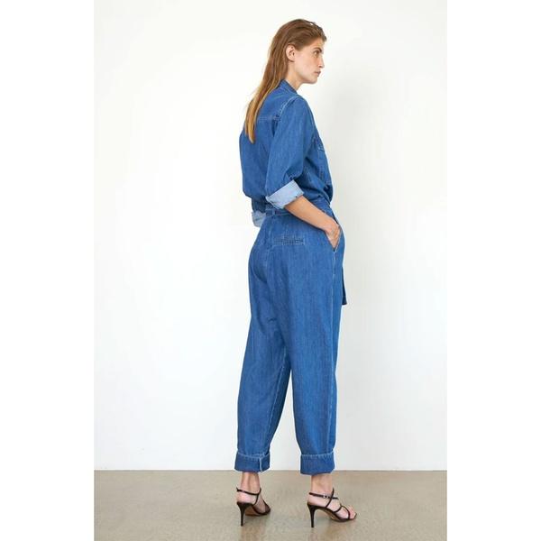 Ingrid Jumpsuit Blue Denim