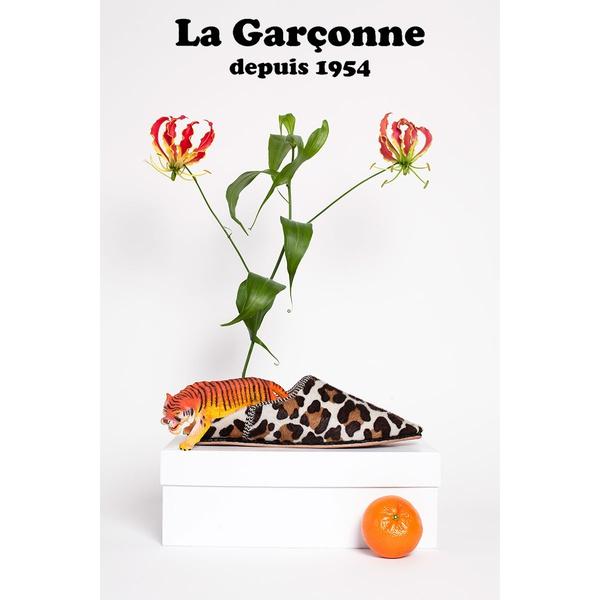 La Garconne Babouche Leo weiss