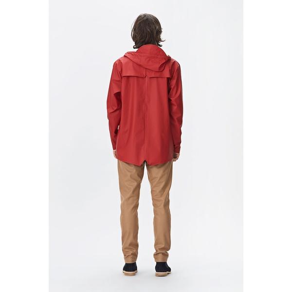 Rains Jacket Scarlet