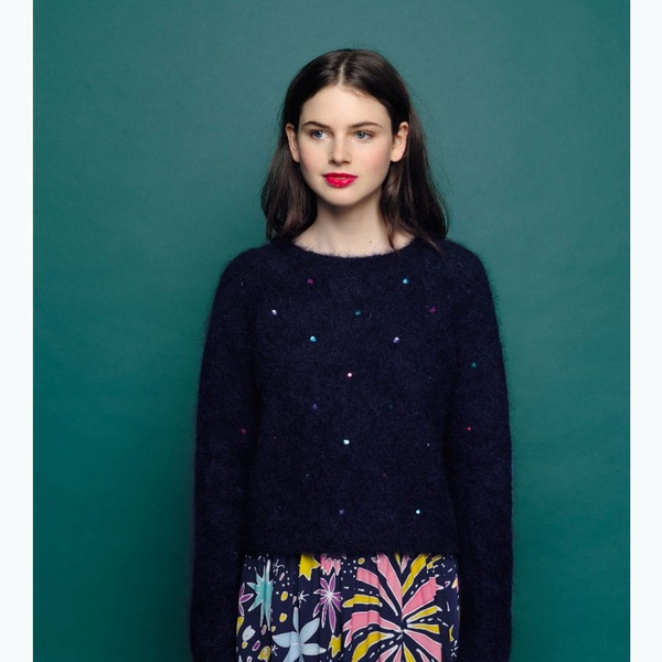 Pullover Amandine Marine