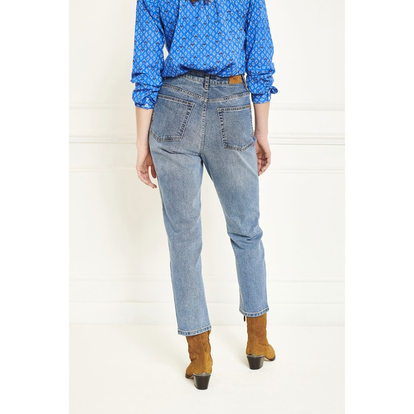 Jeans The Pearl Hendrix Blue Double Stone Wash