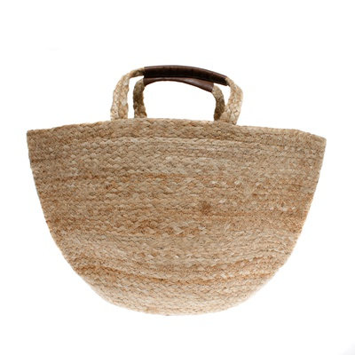 "Jute Basket ""Carole"" Natural"