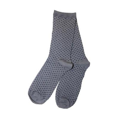 Dot Socks Grey