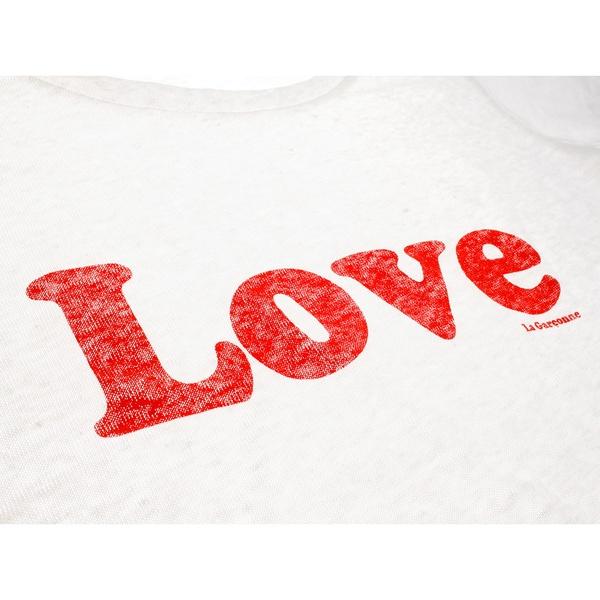 Love T-Shirt 100% Leinen