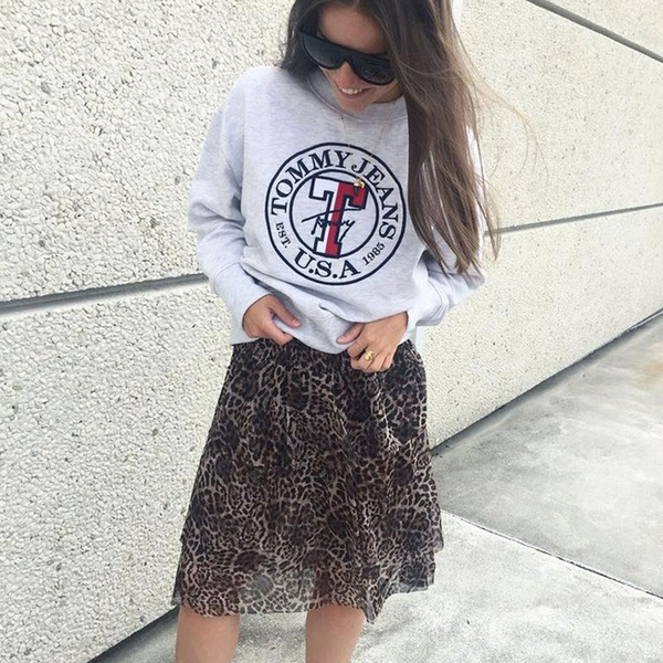Jade Mokka Skirt