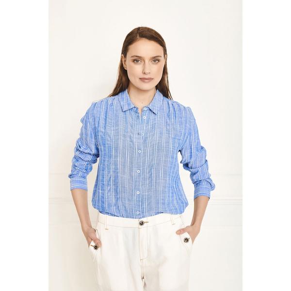 Shirt Camelia Azur