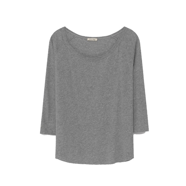 Damen T-Shirt Sandy Sky Grey