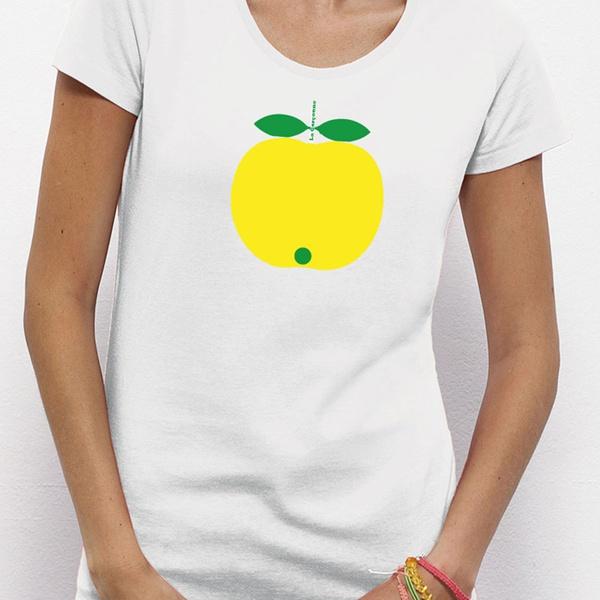 Apfel T-Shirt BioBaumwolle