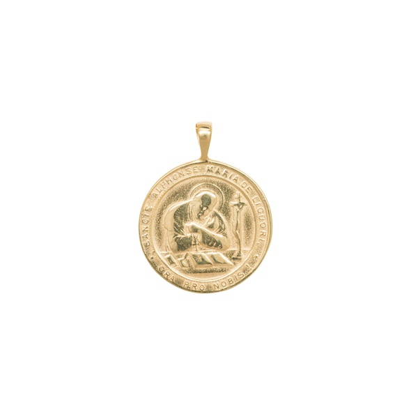 Madonna Necklace Charm Silver Goldplated