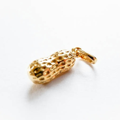 """Anhänger """"Peanut"""" Gold"""