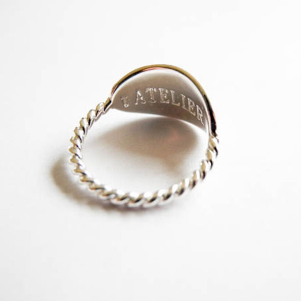 Ring Coquet Silber