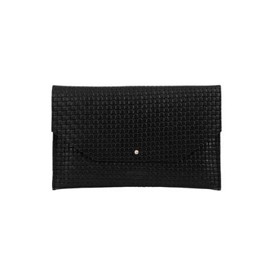 Envelope Braid Black